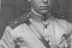 Младший лейтенант Я. Л. Герштейн. 1944 г.