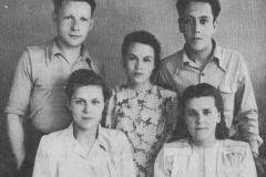 Первый учебный год в Ирбите 1950 г.